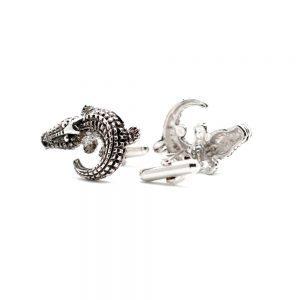 aligator cufflinks