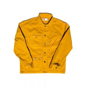 tellason coverall jacket gold