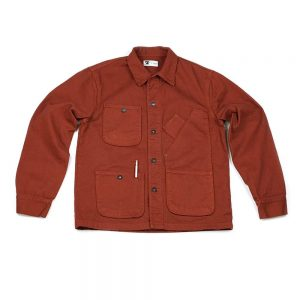 tellason coverall jacket orange