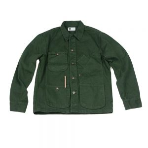 tellason coverall jacket green