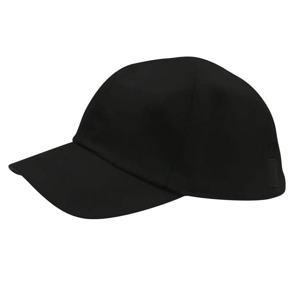 Wigens Wool Baseball Cap Black ... 99f6459881d