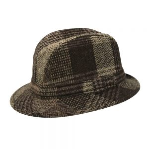 City Sport Tweed Walking Hat Brown