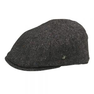 Bay City Relax Newsboy Slim Cap Grey