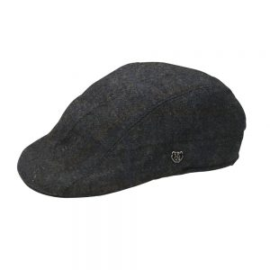Tweed Duckbill Cap Blue