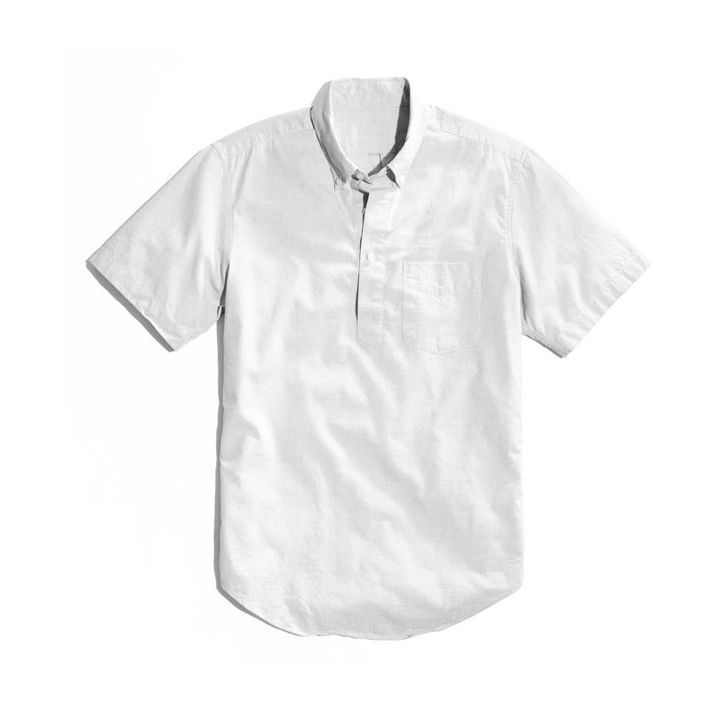 Popover Shirt White
