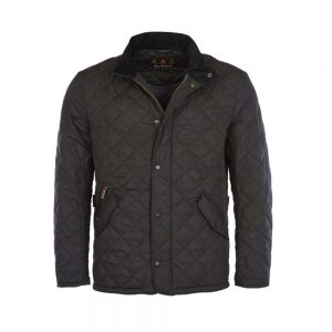 Barbour Flyweight Chelsea Quilt Black