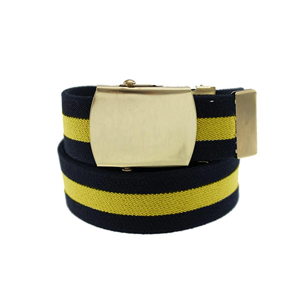 belts Military Buckle yellowNavy