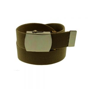 belts Military Buckle Brown