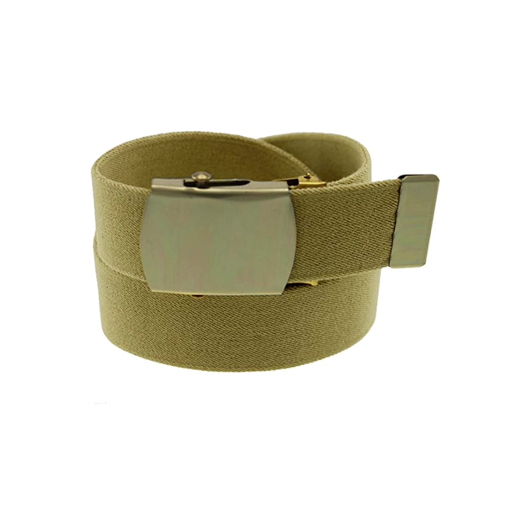 belts Military Buckle Tan