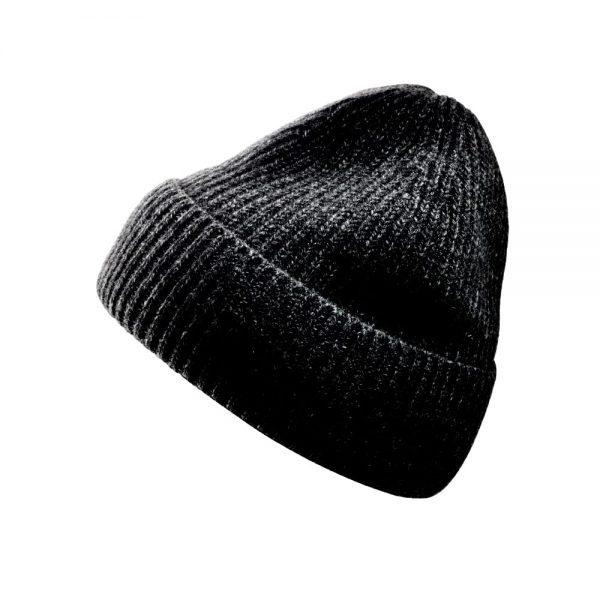 Italian Cashmere Cap- black