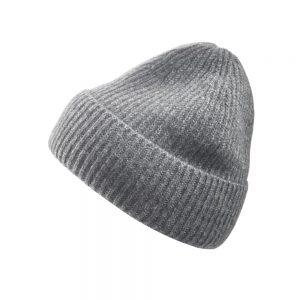 Italian Cashmere Cap- grey