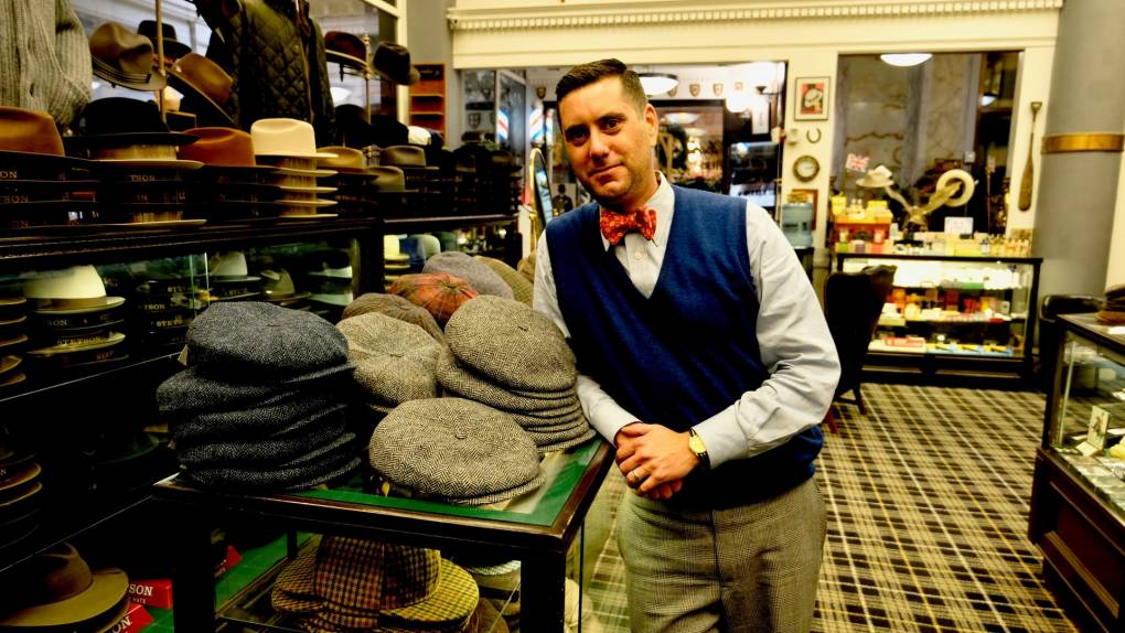 Cable Car Clothiers owner Jonathan Levin talks to KQED about brick and mortar shops surviving online shopping