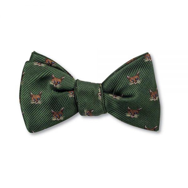 Bow Tie Fox Olive