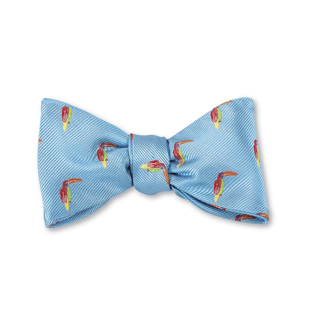 Toucan Bow Tie Toucan Blue