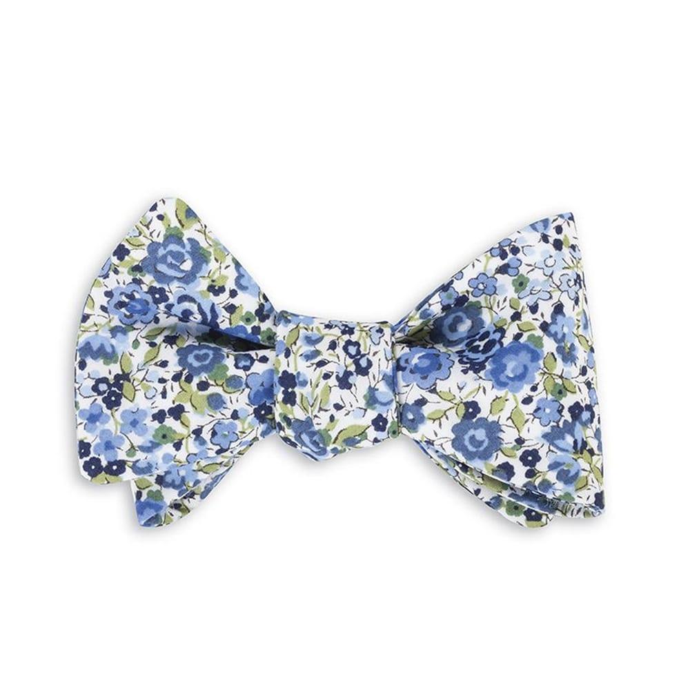 Bow Tie Emma Georgina Blue