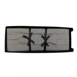 Cummerbund Set Black Gingham