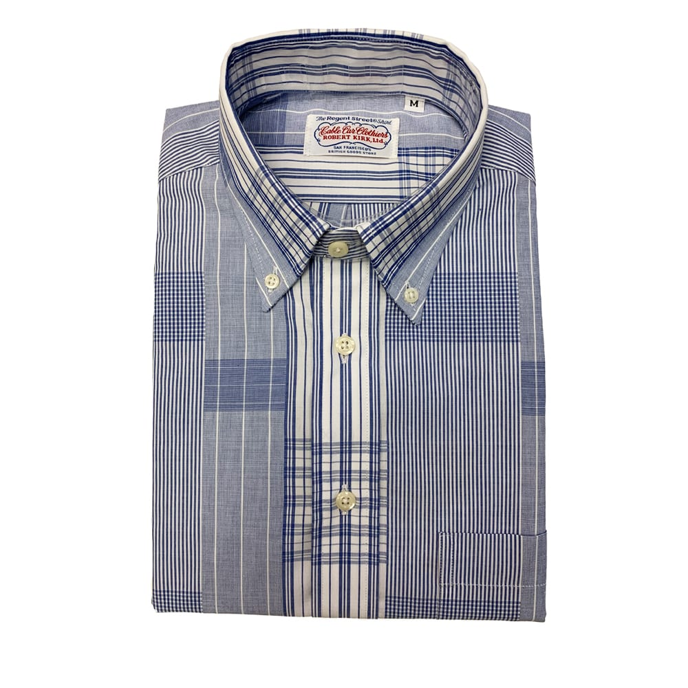 Gitman Patchwork Shirt