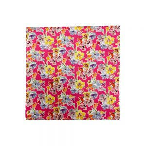 Liberty of London Pocket Squares Lauder Pink