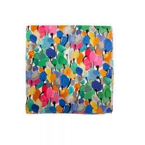 Liberty of London Pocket Squares Tulip Fields