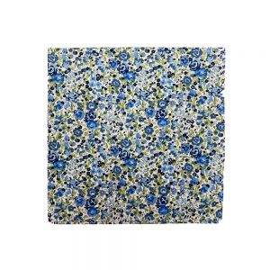 Liberty of London Pocket Squares Emma Georgina Blue