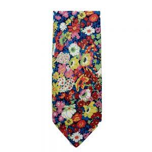 Multi-Flora Neck Tie