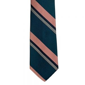 neck tie CCC Stripe #1 Teal