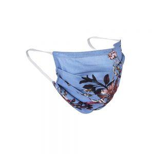 Safety Masks Blue Floral