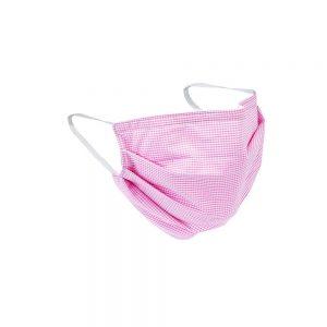 Safety Masks Pink Gingham