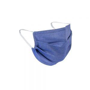 Safety Masks Blue Chambray