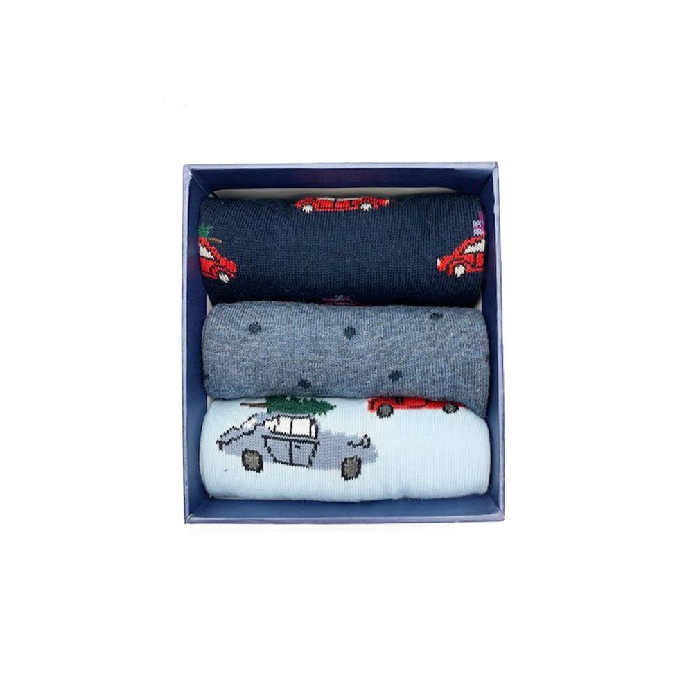 Corgi Socks Holiday Cars Gift Pack