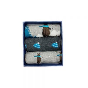Corgi Socks Holiday Bears Gift Pack