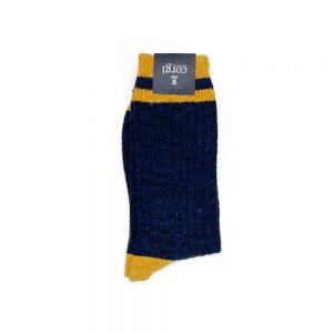 Corgi Socks Tube Navy
