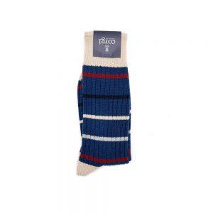 Corgi Socks Pinstripe