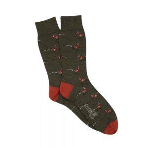 Corgi Socks Pheasant