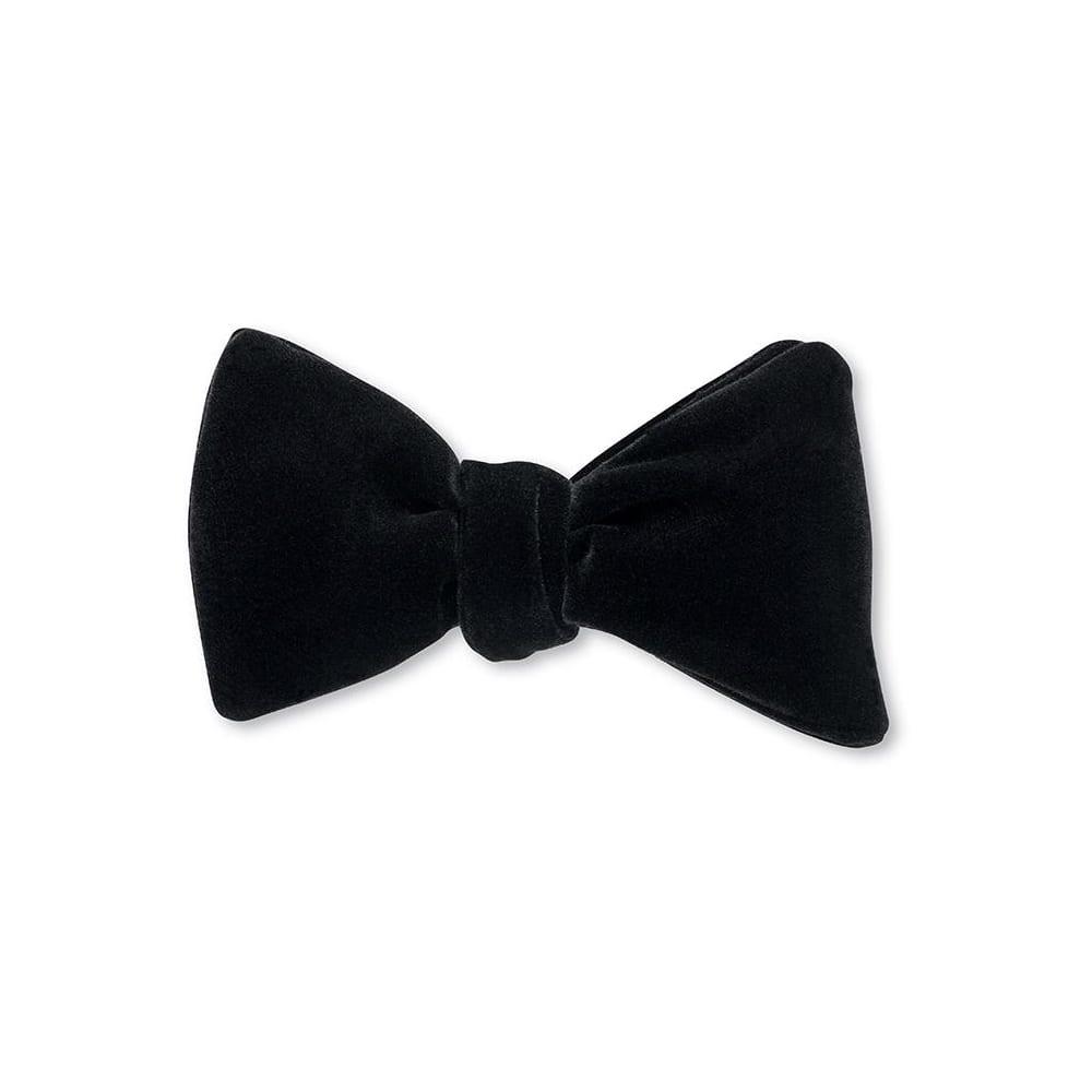 Bow Tie Black Velvet