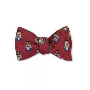 Bow Tie Red Nutcracker