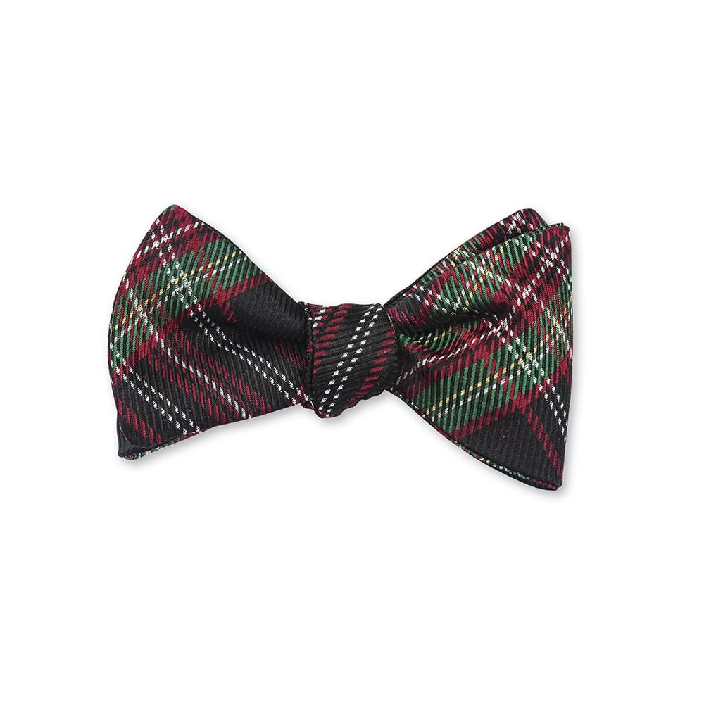 Bow Tie Holiday Tartan