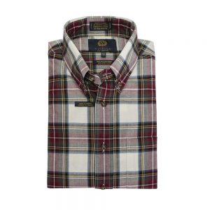 Viyella Button Down Shirt Tartan