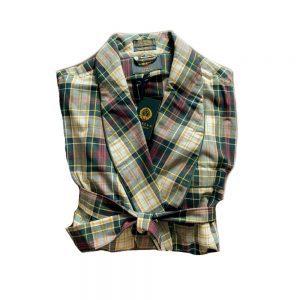 Weathered Campbell Tartan Robe