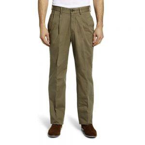 Berle Khaki Trouser Olive