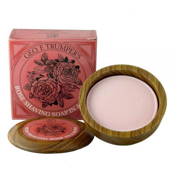 Geo F Trumper rose shaving bowl