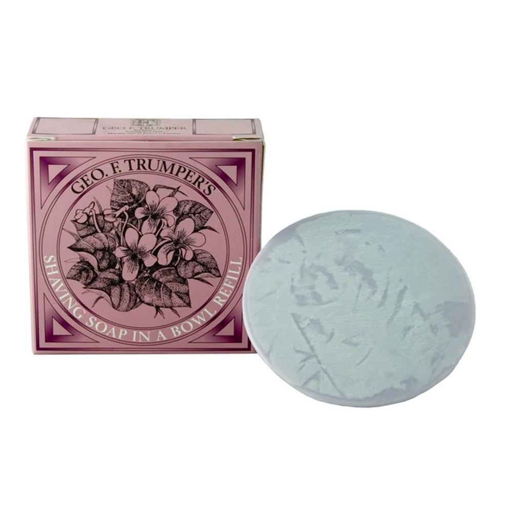 Geo F Trumper violet shaving soap refill