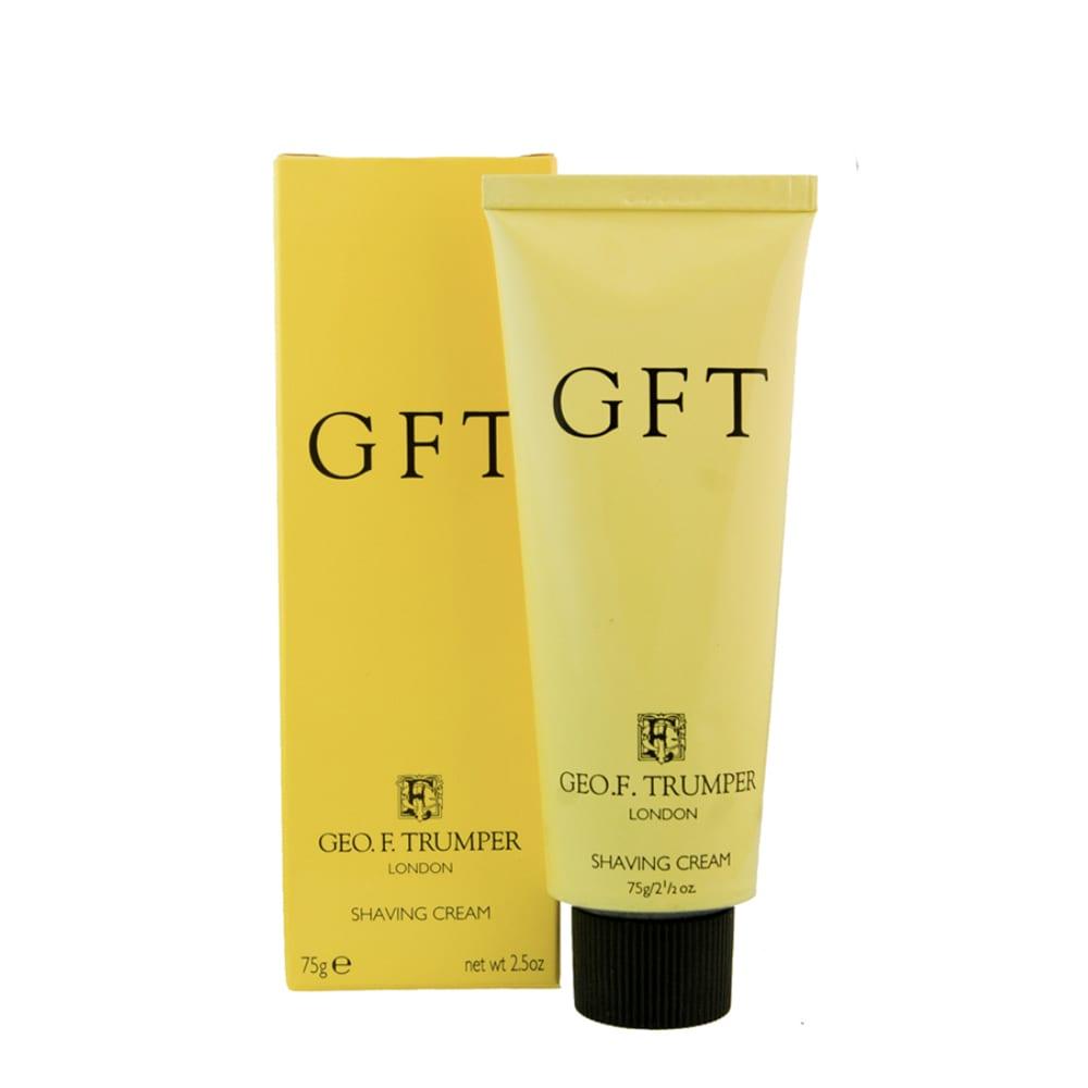 Geo F Trumper GFT shaving cream tube
