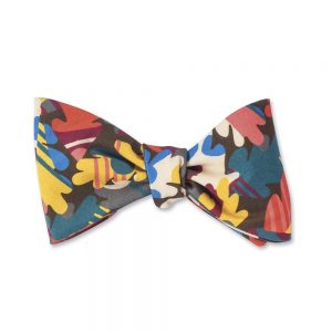 Autumn Leaves Liberty Bow Tie