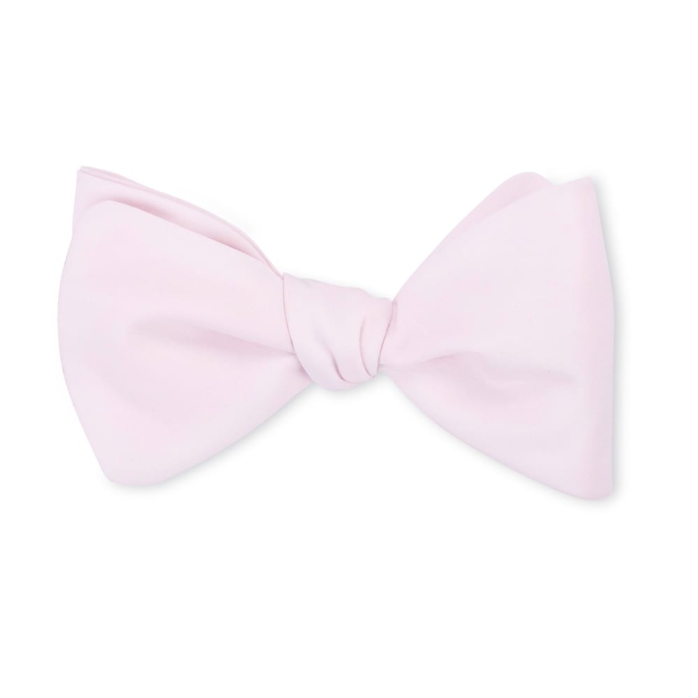 Pale Pink Liberty Bow Tie