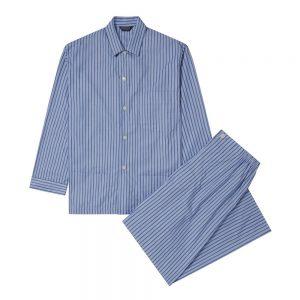 Sleepwear Bonsoir Pyjamas Blue Stripe