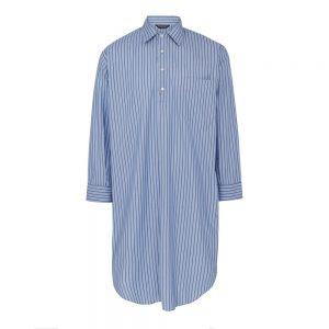 Sleepwear Bonsoir Nightshirt Blue Stripe