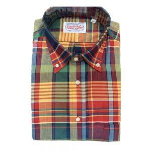 Madras Shirt - Red Yellow