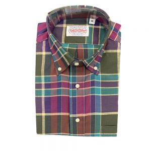 Shirts Madras - Purple Green