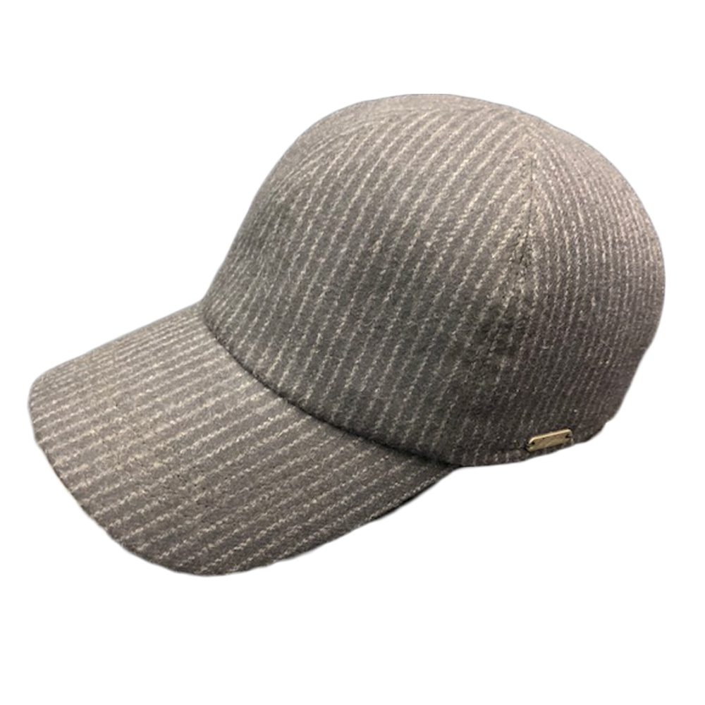 Wigens Ball Cap Black Stripe